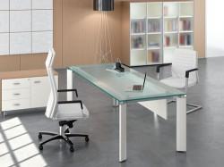 Cikkek üveg íróasztal cimkével Irodai Asztal.hu
