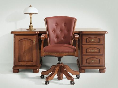 5b8f96c0f3 Klasszikusan elegáns asztalok irodába és dolgozószobába - Irodai ...